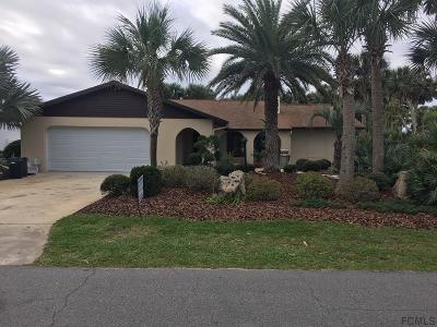 Flagler Beach Single Family Home For Sale: 215 Ocean Palm Drive