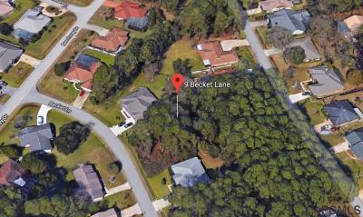 Indian Trails Residential Lots & Land For Sale: 9 Becket Ln