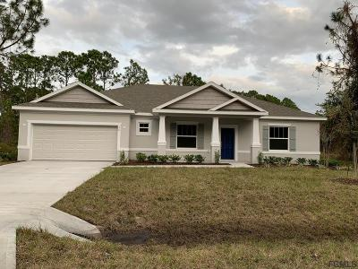 Palm Coast Single Family Home For Sale: 26 Bunker Hill Drive