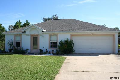 Palm Harbor Single Family Home For Sale: 71 Flemingwood Lane