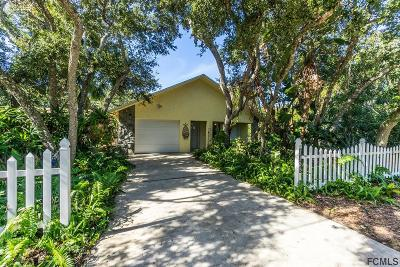 Flagler Beach Single Family Home For Sale: 1436 Flagler Ave S