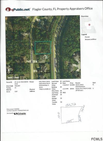 Lehigh Woods Residential Lots & Land For Sale: 7 Red Clover Ln