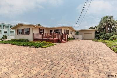 Flagler Beach Single Family Home For Sale: 1301 N Central Ave N