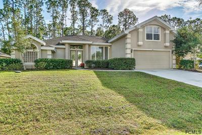 Palm Coast FL Single Family Home For Sale: $285,000