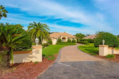 Palm Coast FL Single Family Home For Sale: $1,199,000