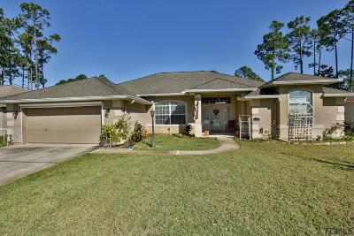 Palm Coast Single Family Home For Sale: 11 Barbera Ln
