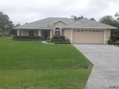 Palm Coast FL Single Family Home For Sale: $298,000