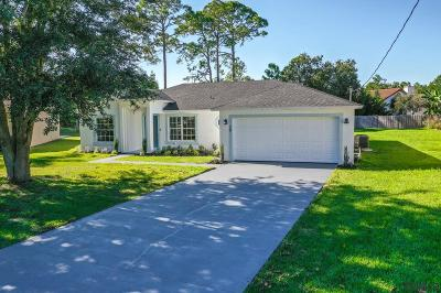 Palm Coast FL Single Family Home For Sale: $246,900