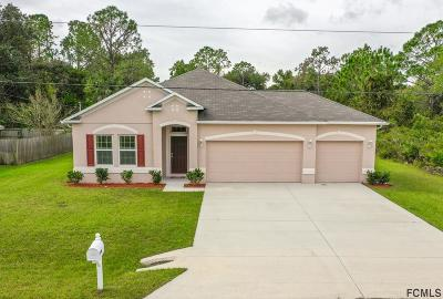 Palm Coast FL Single Family Home For Sale: $259,900