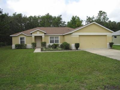 Palm Coast FL Single Family Home For Sale: $168,000