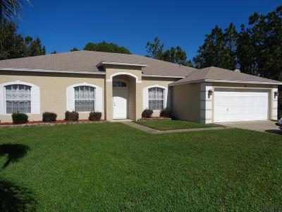 Palm Coast FL Single Family Home For Sale: $259,500