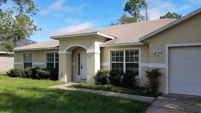 Palm Coast Single Family Home For Sale: 9 Roxbury Lane