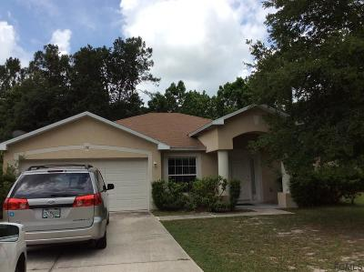 Palm Coast Single Family Home For Sale: 28 Rivera Lane