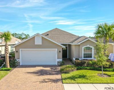 Palm Coast Single Family Home For Sale: 132 Park Place Circle