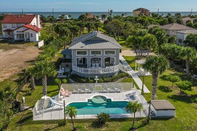 Flagler Beach Single Family Home For Sale: 3162 N Ocean Shore Blvd