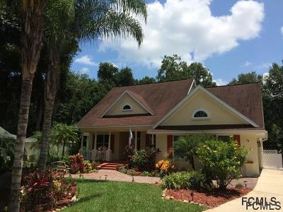 Flagler Beach Single Family Home For Sale: 16 St Charles Place
