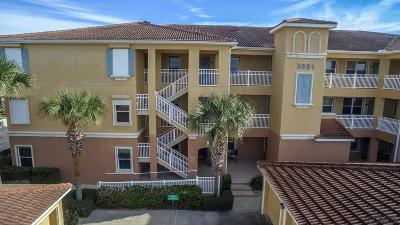 Flagler Beach Condo/Townhouse For Sale: 3651 Central Ave S #102