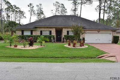 Palm Coast Single Family Home For Sale: 72 Red Mill Drive