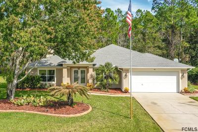 Palm Coast Single Family Home For Sale: 36 Kalamazoo Trail