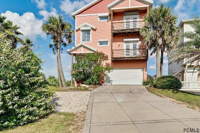 Flagler Beach Single Family Home For Sale: 3341 N N Ocean Shore Blvd