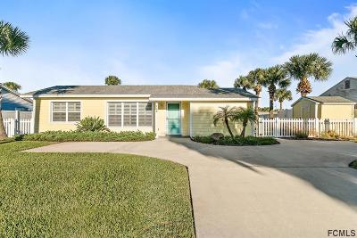 Flagler Beach Single Family Home For Sale: 128 Palmetto Ave N
