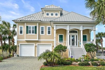 Flagler Beach FL Single Family Home For Sale: $695,000