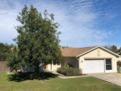 Palm Coast Single Family Home For Sale: 68 Fieldstone Ln