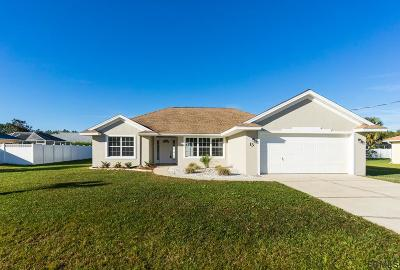 Palm Coast Single Family Home For Sale: 13 Burnham Lane