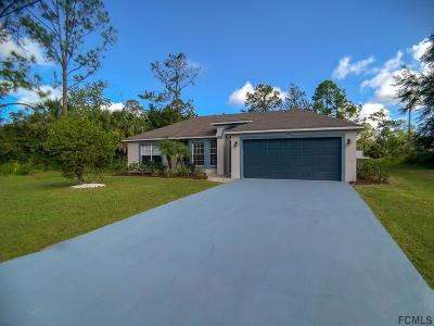 Palm Coast Single Family Home For Sale: 79 Rose Dr