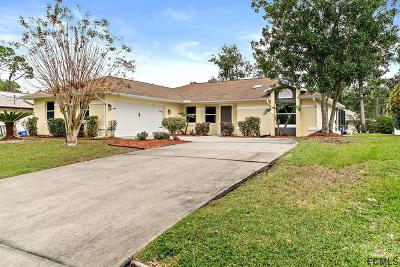 Palm Coast Single Family Home For Sale: 12 Woodholme Lane