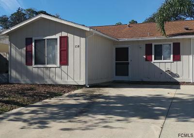 Condo/Townhouse For Sale: 159 Oak Lane