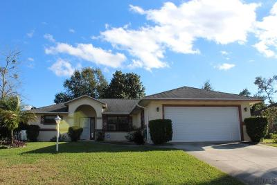Palm Coast Single Family Home For Sale: 40 Fernwood Ln