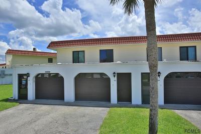 Flagler Beach Condo/Townhouse For Sale: 53 Ocean Palm Drive #53