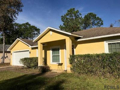 Palm Coast Single Family Home For Sale: 21 Radcliffe Drive