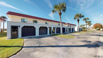 Flagler Beach Condo/Townhouse For Sale: 16 Ocean Palm Villas S #16