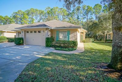 Palm Coast Condo/Townhouse For Sale: 40 Lafayette Ln #40
