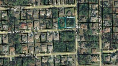 Seminole Woods Residential Lots & Land For Sale: 35 Wood Amber Ln