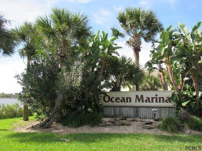 Flagler Beach Condo/Townhouse For Sale: 606 Ocean Marina Drive #104