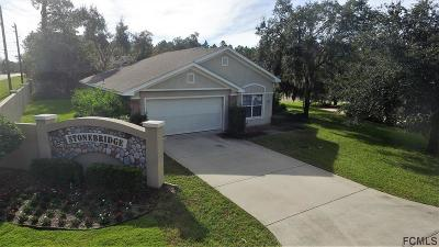 Flagler Beach Single Family Home For Sale: 2301 Stonebridge Way