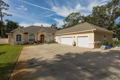 Flagler Beach FL Single Family Home For Sale: $549,900