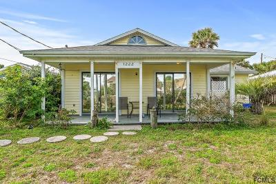 Flagler Beach Single Family Home For Sale: 1222 Central Ave S