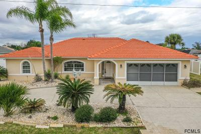 Palm Coast Single Family Home For Sale: 11 Floral Court