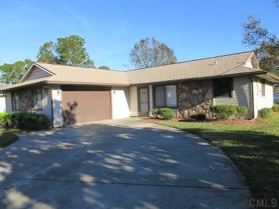 Palm Coast Single Family Home For Sale: 35 Westford Lane