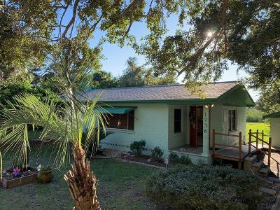 Flagler Beach Single Family Home For Sale: 1736 S Flagler Ave