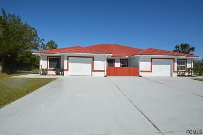 Palm Coast Multi Family Home For Sale: 222 Coral Reef Ct N