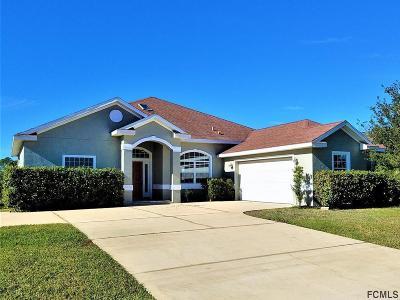 Palm Coast Single Family Home For Sale: 28 Columbus Court