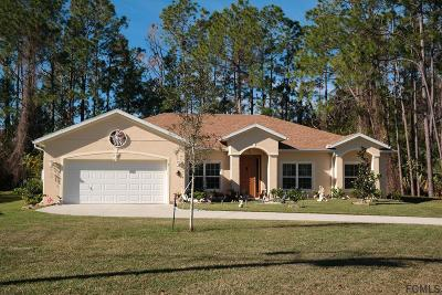 Palm Coast Single Family Home For Sale: 1 Whitt Place