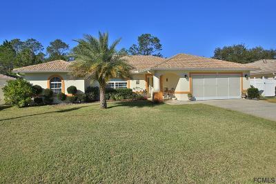 Palm Coast Single Family Home For Sale: 28 Princeton Lane