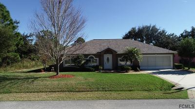 Palm Coast Single Family Home For Sale: 46 Fariston Place