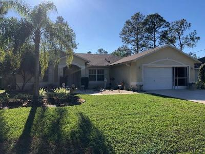 Palm Coast Single Family Home For Sale: 9 Wheatfield Dr